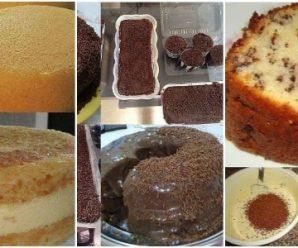 Recetas para Preparar Pasteles Caseros